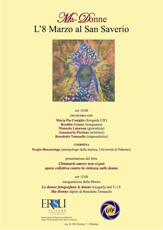 Ma-Donne  L'8 Marzo al San Saverio