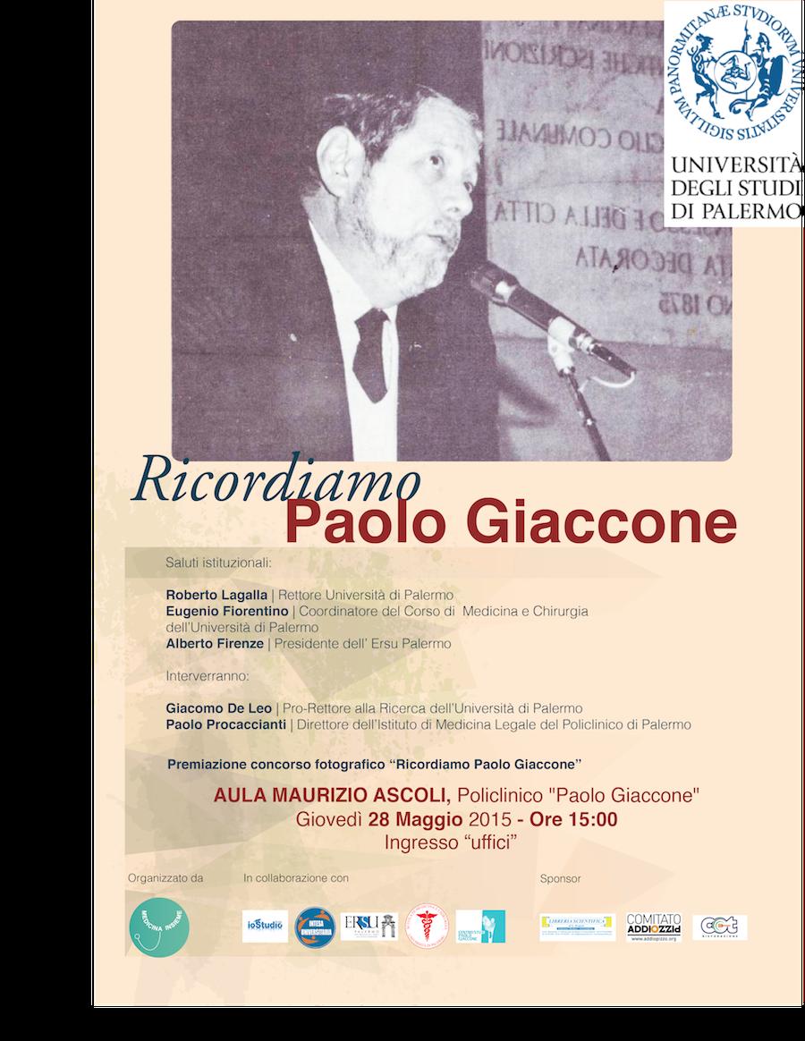Ricordiamo Paolo Giaccone