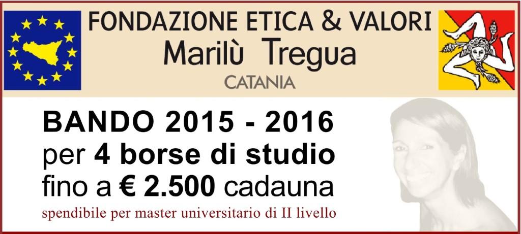 Fondazione Tregua, quattro borse di studio per master universitari