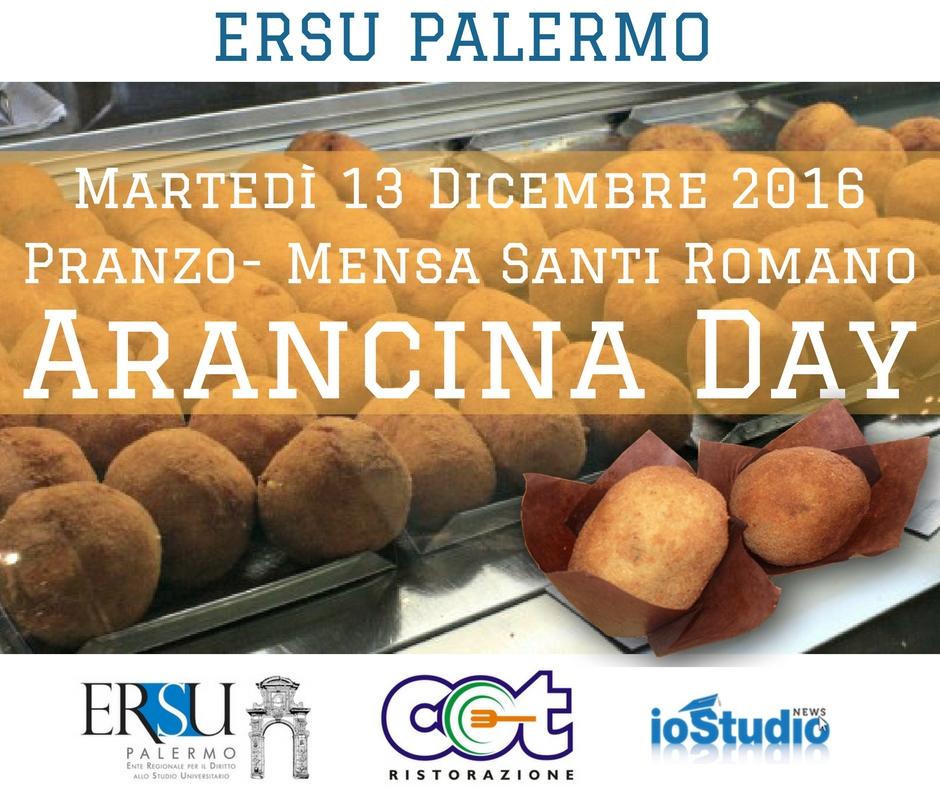 """Al ristorante universitario Santi Romano, per Santa Lucia, scatta l'""""arancina day"""""""