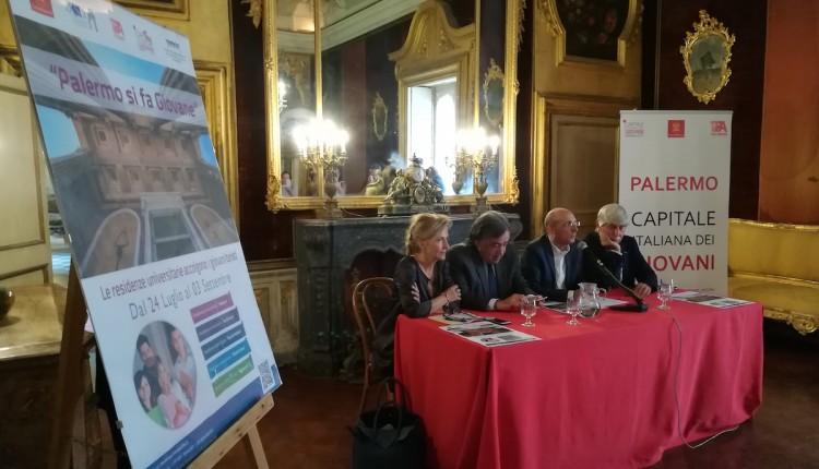 Palermo si fa giovane – Nell'anno di Palermo Capitale dei Giovani, l'ERSU mette a disposizione dei giovani studenti in vacanza cinque residenze universitarie nel Centro Storico.