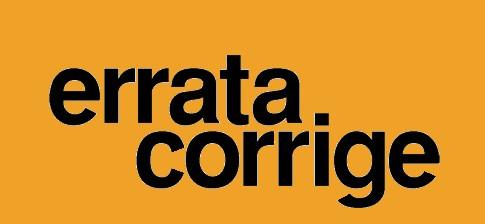 Errata Corrige GARA PER AFFIDAMENTO DEL SERVIZIO DI PORTIERATO RECEPTION 2018