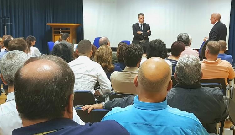 Il Commissario straordinario Rizzo incontra i lavoratori dell'ERSU PALERMO