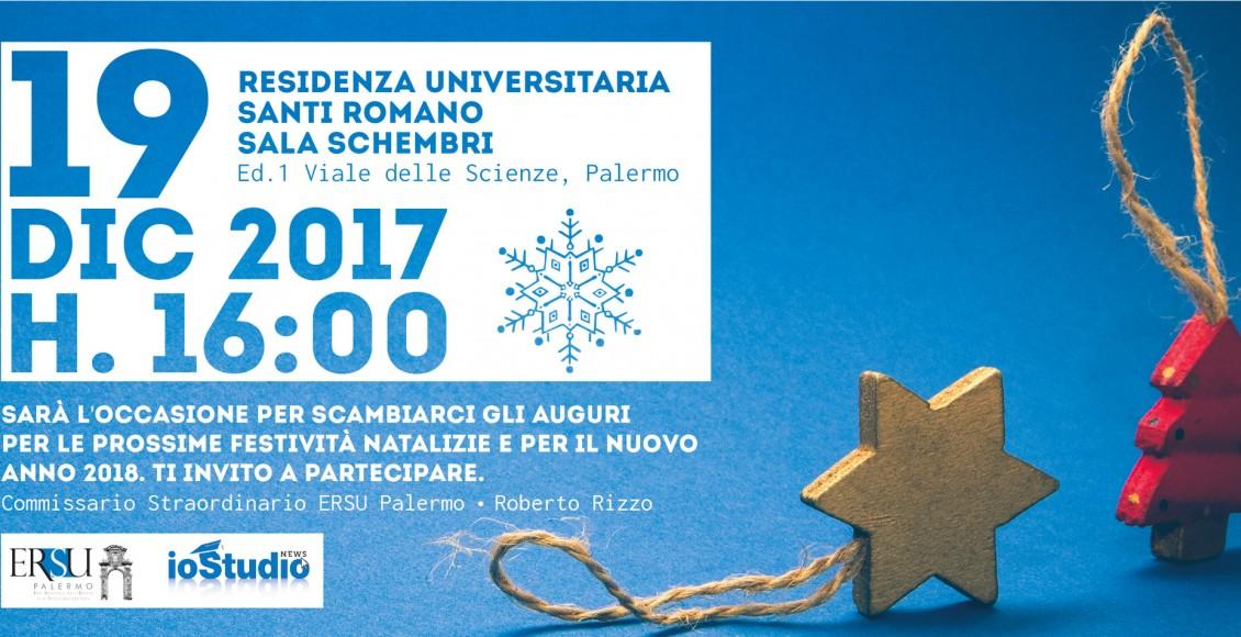 Invito del Commissario Straordinario dell'Ersu di Palermo