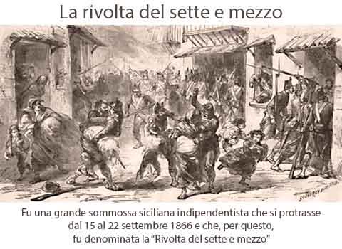Sette e Mezzo, una rivolta repressa nel sangue ricordata dopo 152 anni