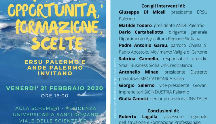 """""""Per restare al Sud"""", iniziativa a Palermo per dare voce ai giovani che lasciano la Sicilia"""