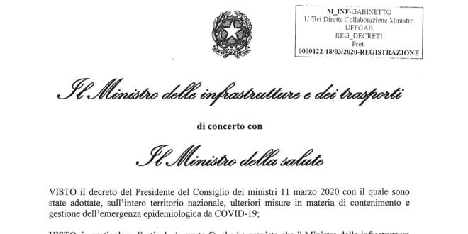 Emergenza Covid-19, i trasporti per la Sicilia