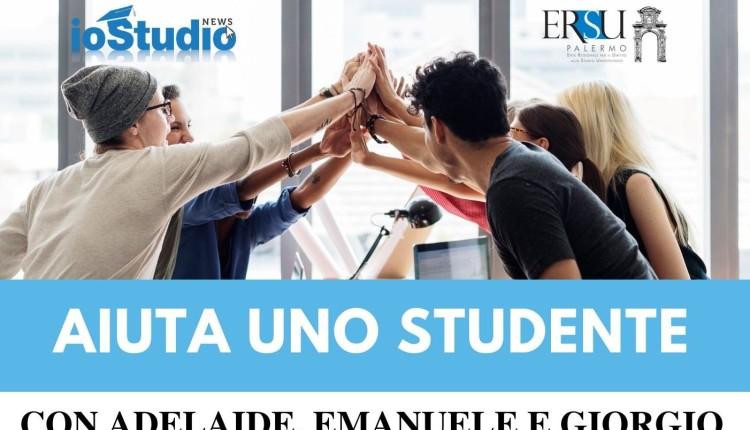 Studenti universitari organizzano raccolta fondi per i loro colleghi in difficoltà. Parte #iodono