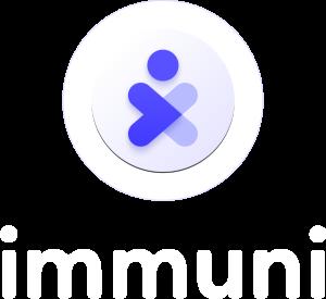 Immuni Logo - 3D version - Vertical