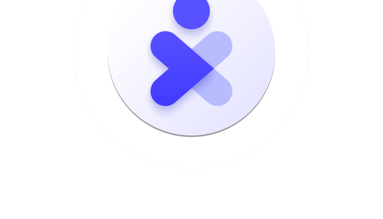 Immuni Logo – 3D version – Vertical